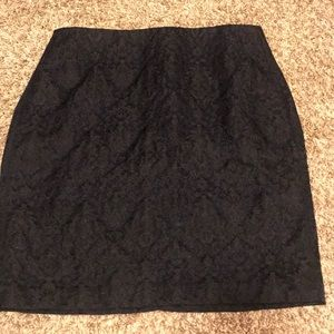 Banana Republic navy skirt